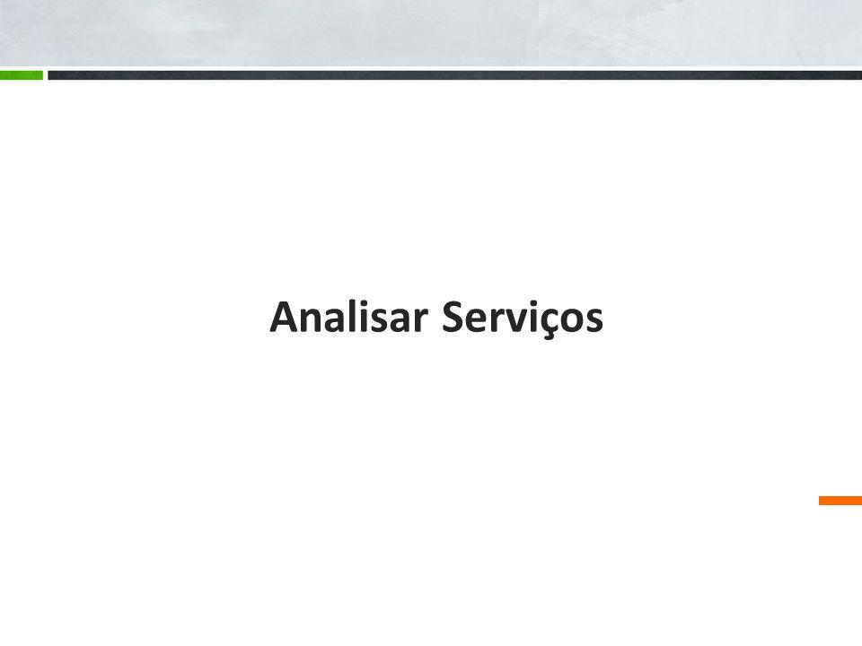 Analisar Serviços
