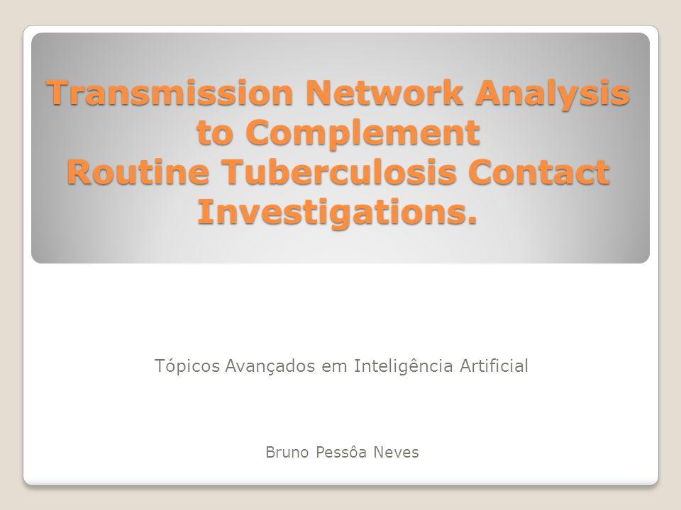 Metodologia A maneira de contato entre os pacientes foi classificada de três maneiras: Próxima: Mais de quatro horas de exposição.