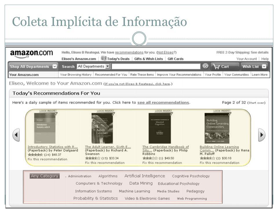 Coleta Implícita de Informação