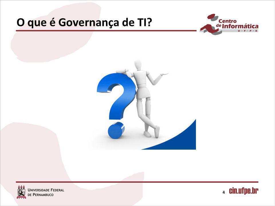 4 O que é Governança de TI?