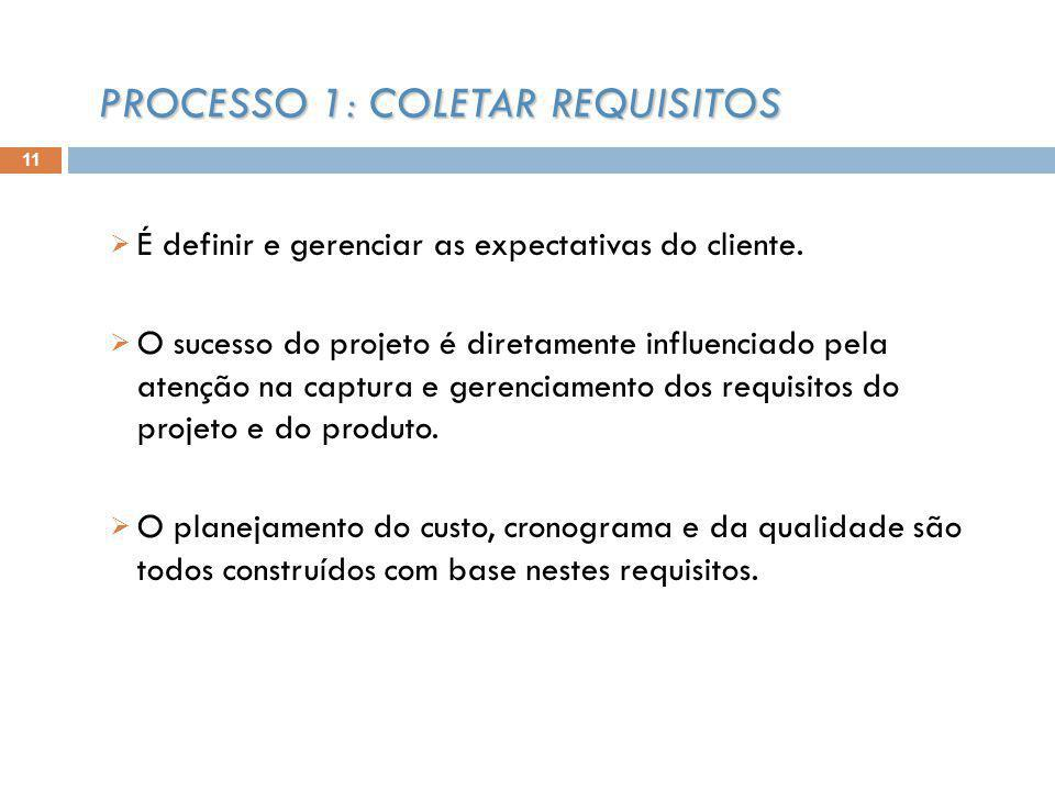 É definir e gerenciar as expectativas do cliente.