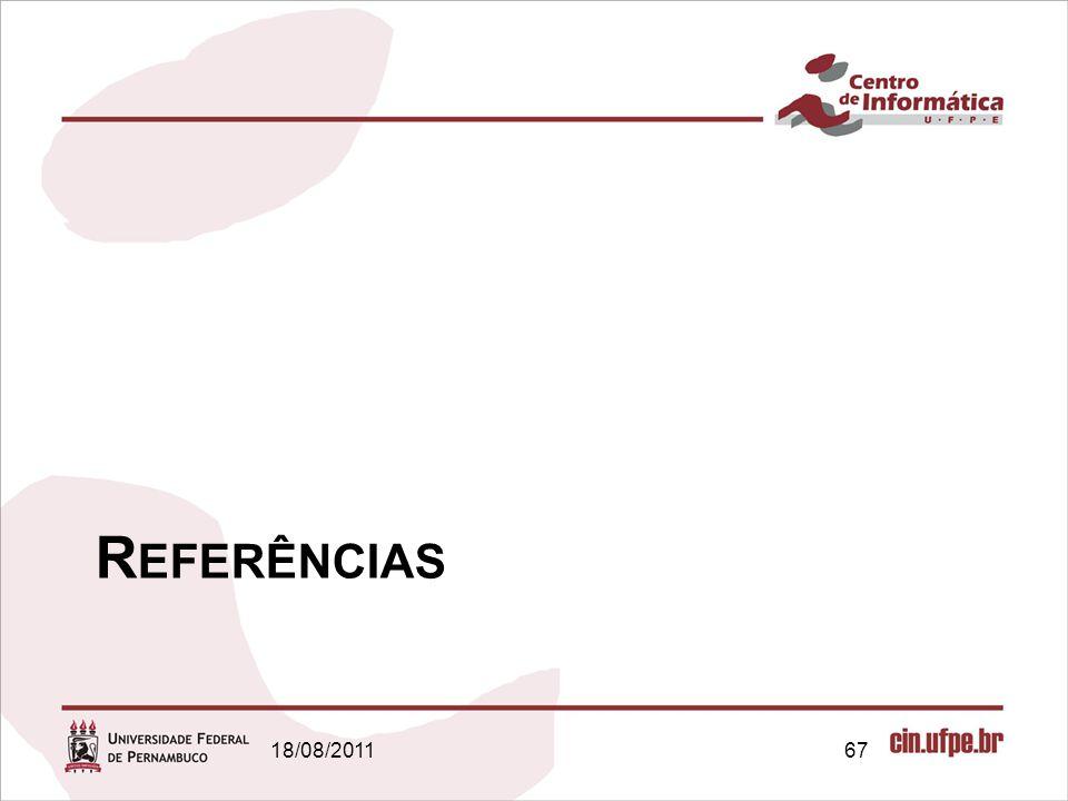 R EFERÊNCIAS 18/08/201167