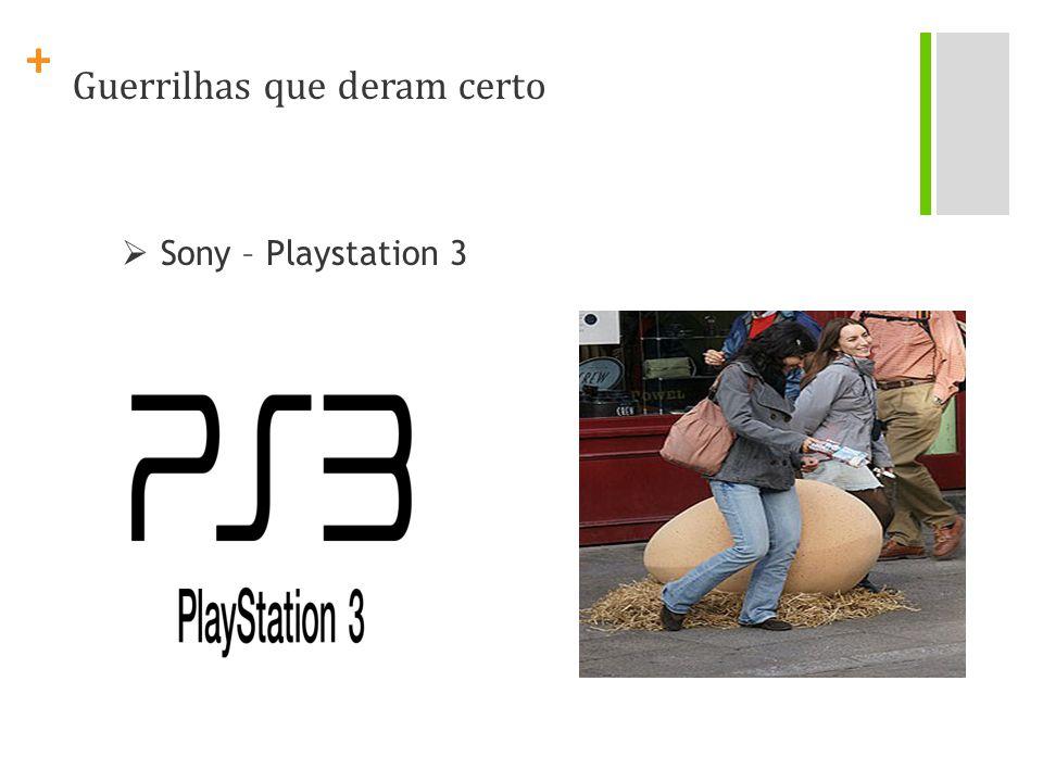 + Sony – Playstation 3