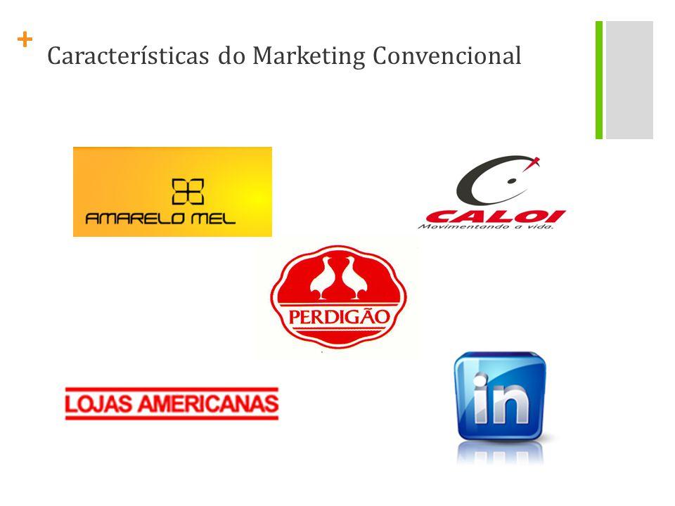 + Pessoas comuns conseguem espalhar boas e más informações sobre marcas mais rapidamente que as pessoas de marketing. (Ray Johnson)