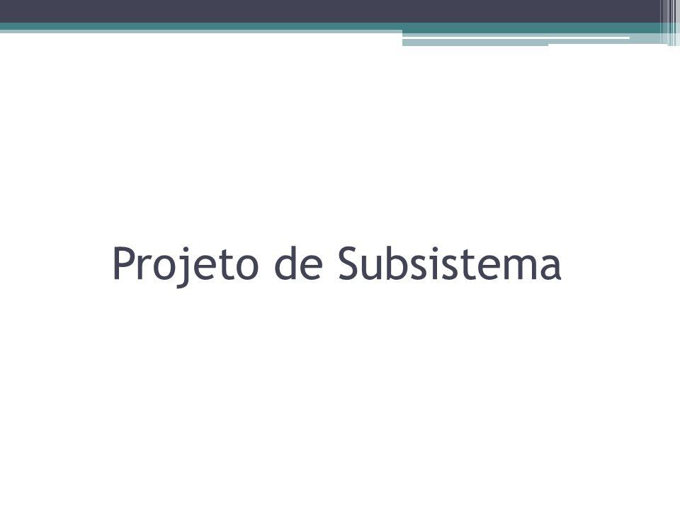 Projeto de Subsistema