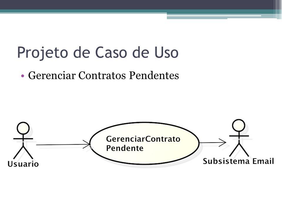 Gerenciar contratos pendentes Descrição O sistema deve permitir ao usuário visualizar os contratos pendentes e gerenciá-los notificando fornecedores por email sobre atrasos e registrando essas ocorrências.