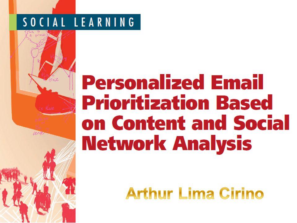 Email - Mais importante meio de comunicação, porém: Recebidos e enviados desordenadamente Prejuízo de US$650 bilhões Sistemas que controlem a sobrecarga Priorização de e-mail personalizado Introdução