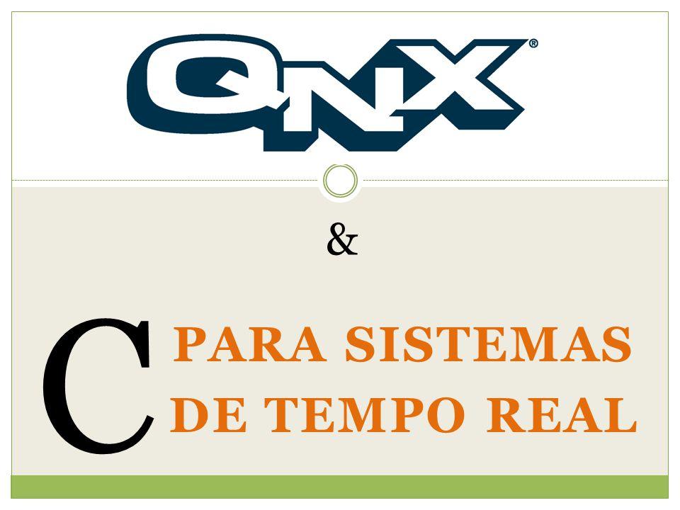 PARA SISTEMAS DE TEMPO REAL C &