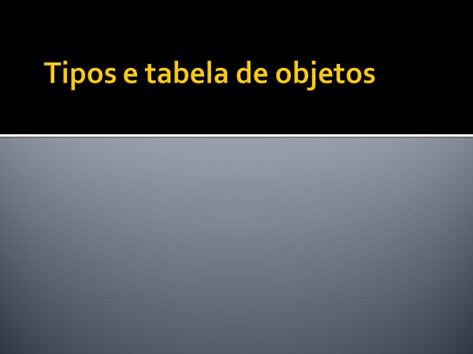 create or replace type tp_quadrilatero as object ( id number, altura number, largura number, constructor function tp_quadrilatero (i number, a number, l number) return self as result, member function get_area return number, member procedure set_altura (a number) );