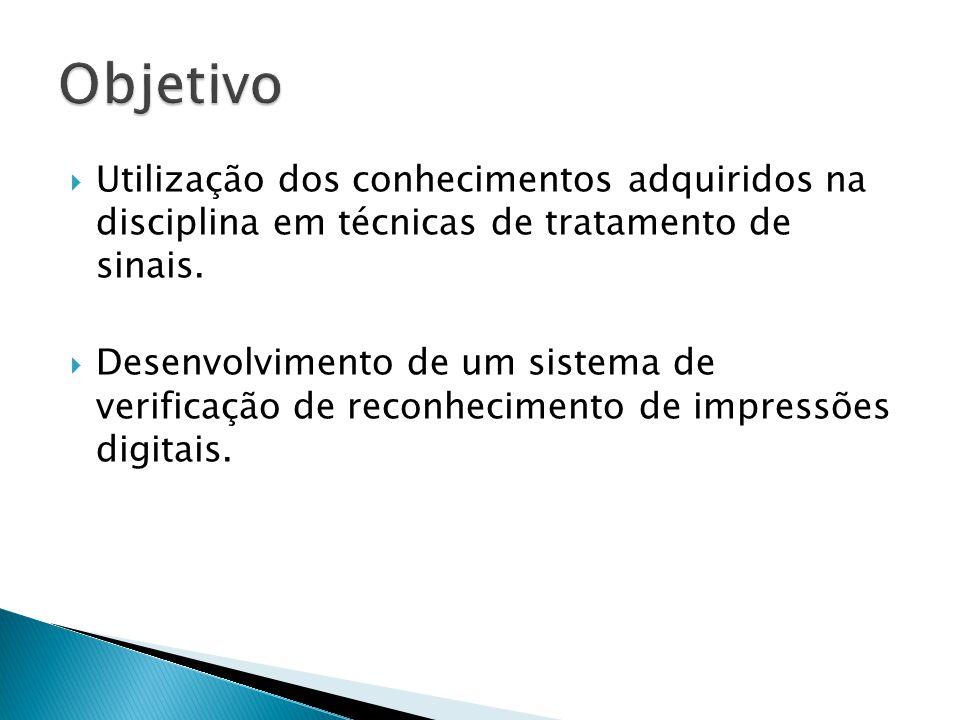 Utilização dos conhecimentos adquiridos na disciplina em técnicas de tratamento de sinais.