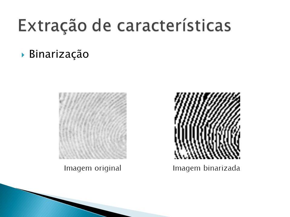 Binarização Imagem originalImagem binarizada