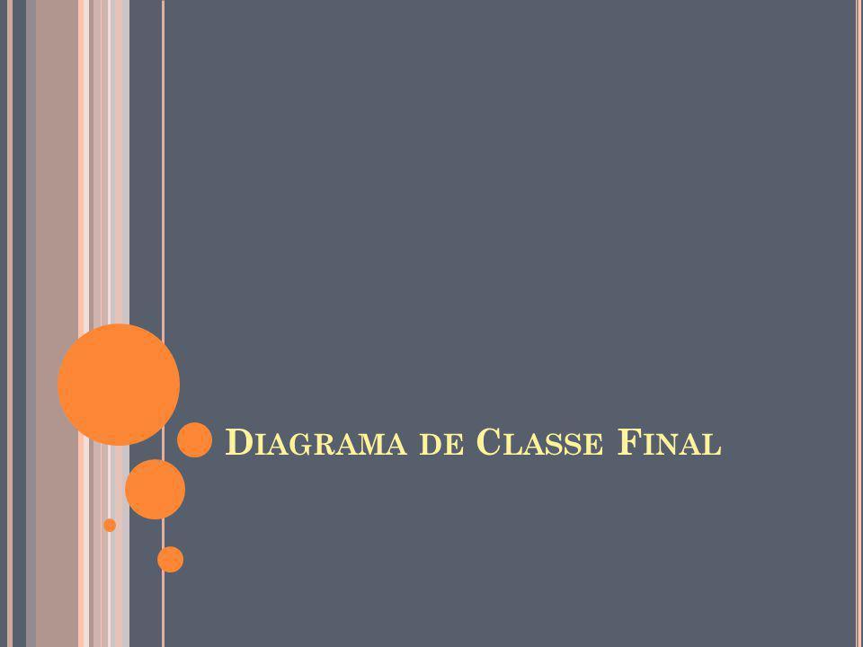 D IAGRAMA DE C LASSE F INAL