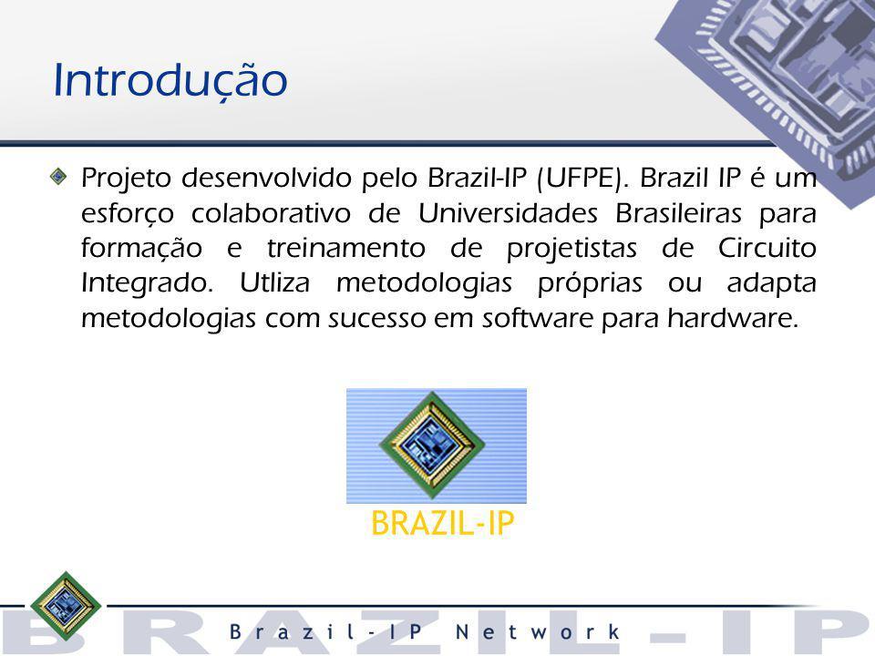 Introdução Projeto desenvolvido pelo Brazil-IP (UFPE).