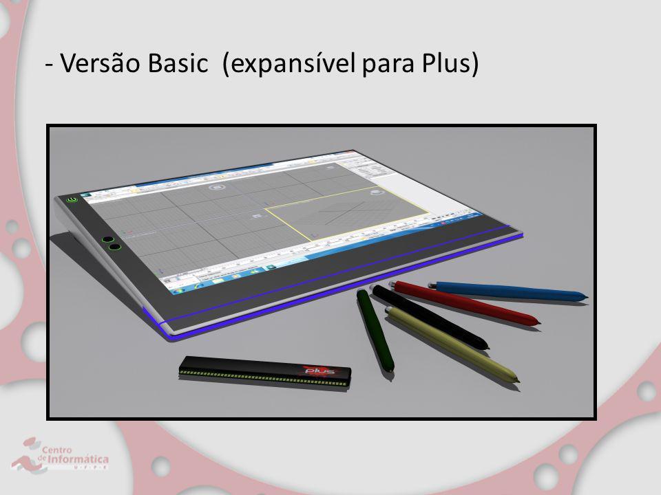 - Versão Basic (expansível para Plus)