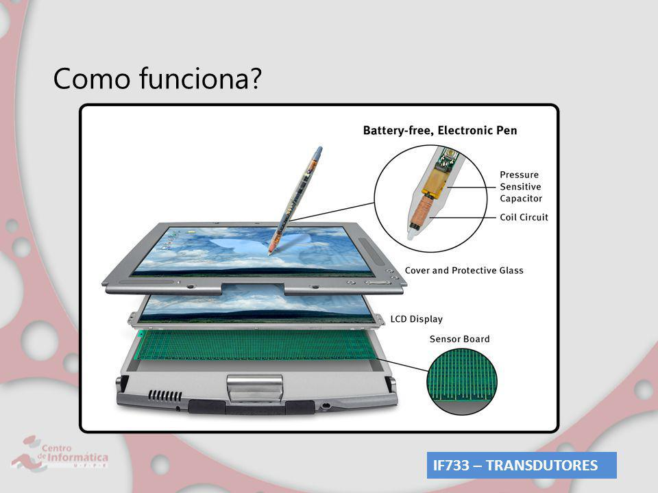 Como funciona? IF733 – TRANSDUTORES