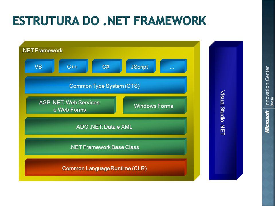 .NET Framework VBC++C#JScript...