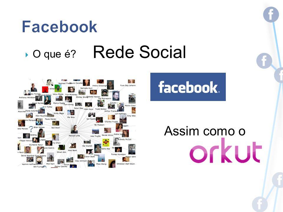 O que é? Rede Social Assim como o
