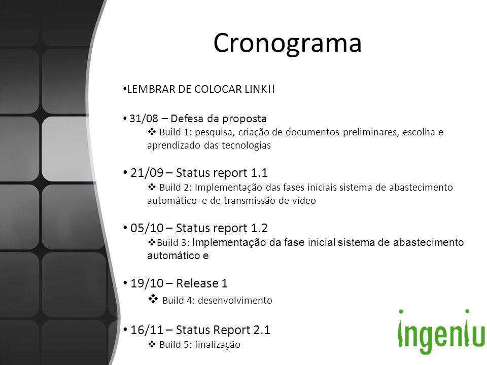 Cronograma LEMBRAR DE COLOCAR LINK!.