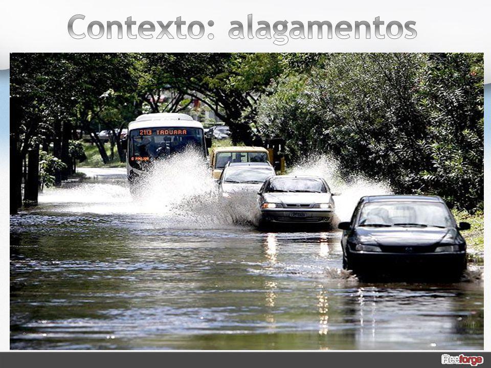Segundo Pesquisa Nacional de Saneamento Básico, 40,8% dos municípios sofreu algum tipo de alagamento.
