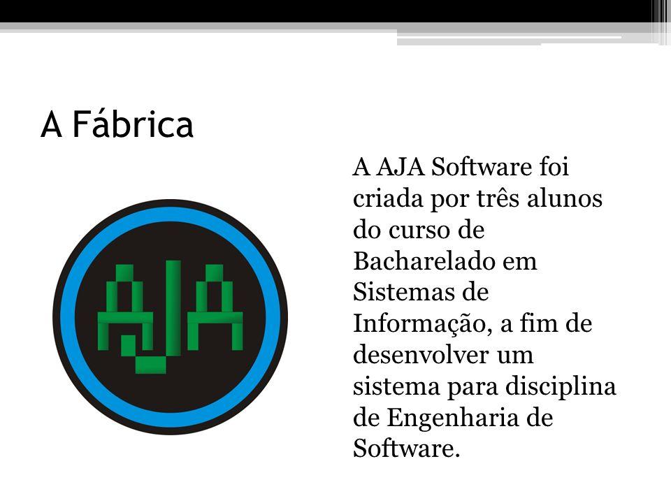 A Fábrica A AJA Software foi criada por três alunos do curso de Bacharelado em Sistemas de Informação, a fim de desenvolver um sistema para disciplina