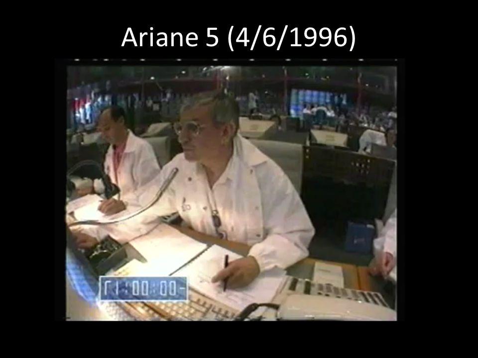 Ariane 5 (4/6/1996)