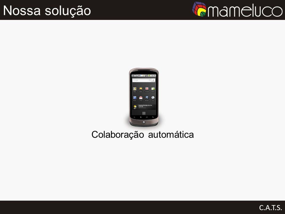 Nossa solução C.A.T.S. Colaboração automática