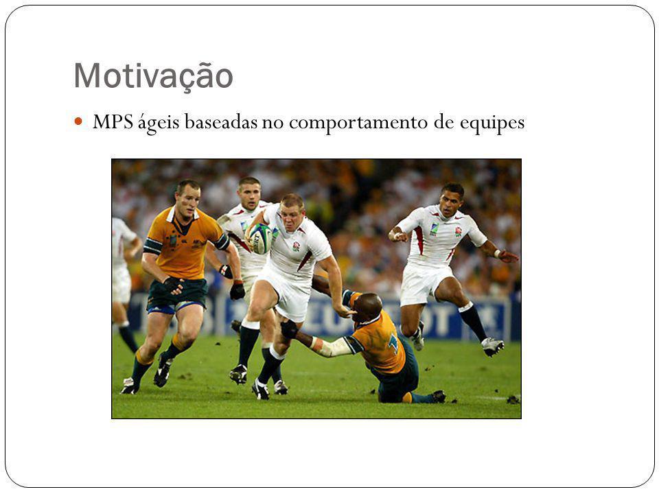 Motivação MPS ágeis baseadas no comportamento de equipes