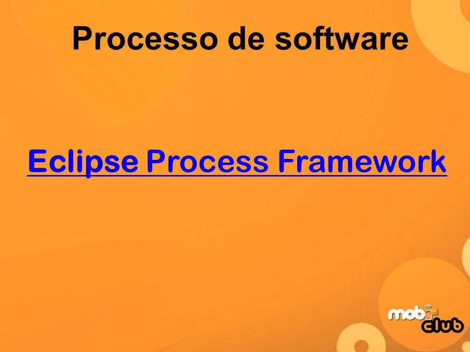 Processo de software Eclipse Process Framework