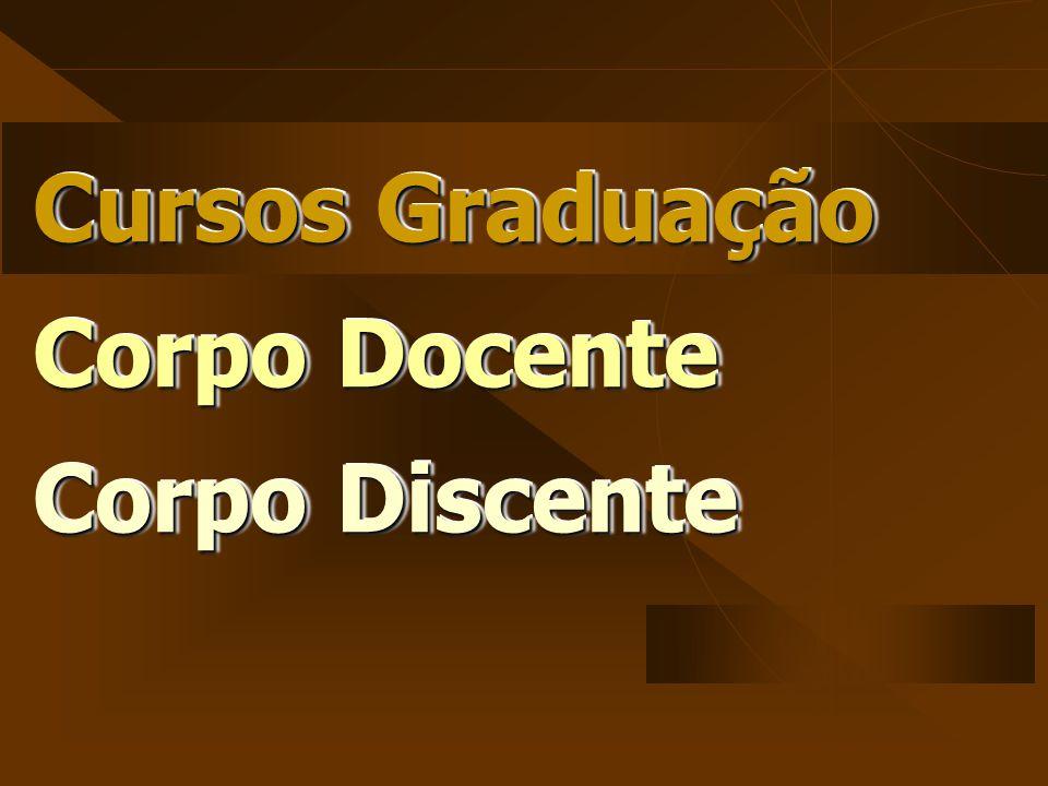 Cursos Graduação Corpo Docente Corpo Discente Cursos Graduação Corpo Docente Corpo Discente