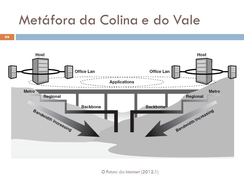 Metáfora da Colina e do Vale O Futuro da Internet (2012.1) 99
