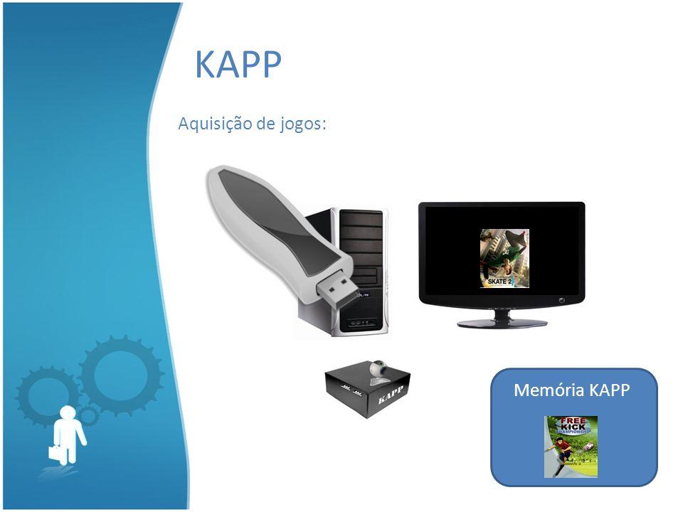 KAPP Aquisição de jogos: Memória KAPP