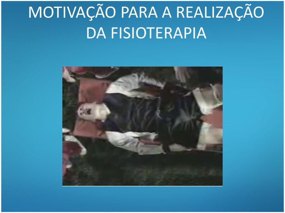 MOTIVAÇÃO PARA A REALIZAÇÃO DA FISIOTERAPIA