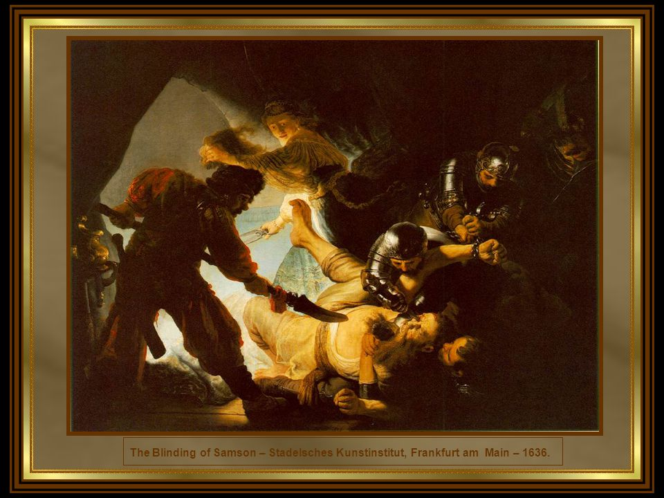 The Angel Prevents the Sacrifice of Isaac - Hermitage, St. Petersburg - 1635