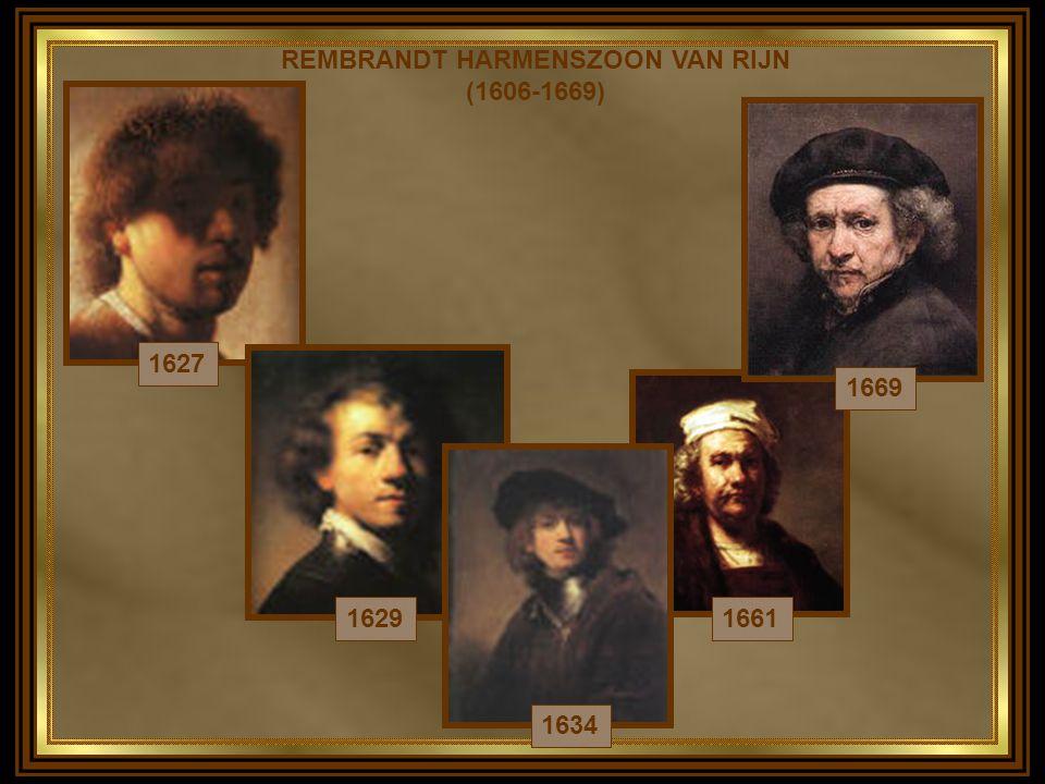 VIDA Pintor e gravador holandês, Rembrandt freqüentou a Universidade de Leyden, mas resolveu dedicar-se à pintura.