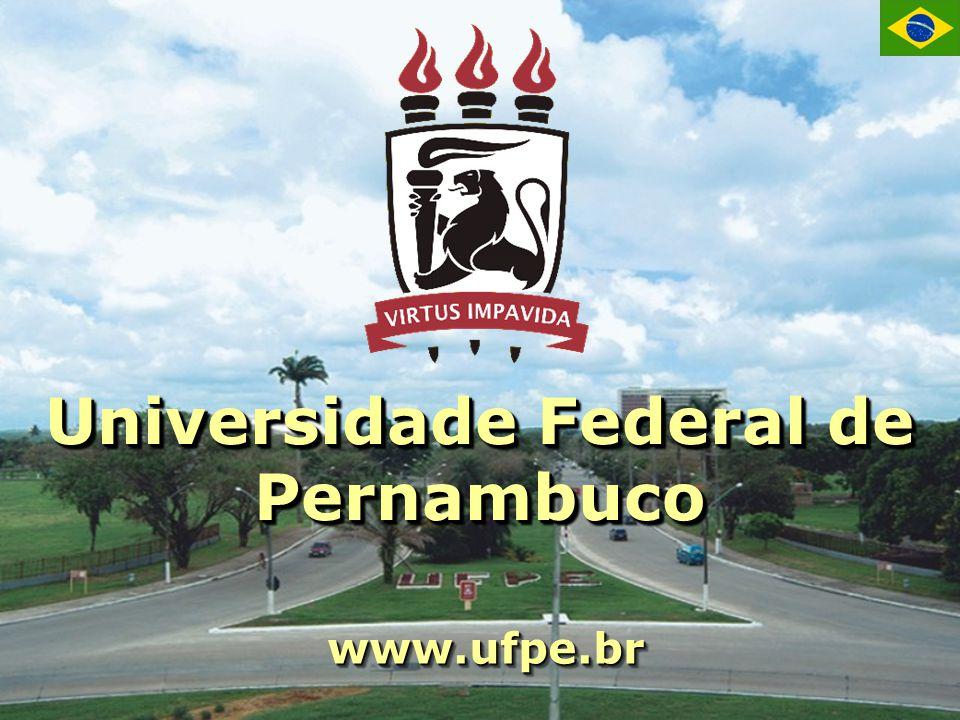 Universidade Federal de Pernambuco www.ufpe.brwww.ufpe.br