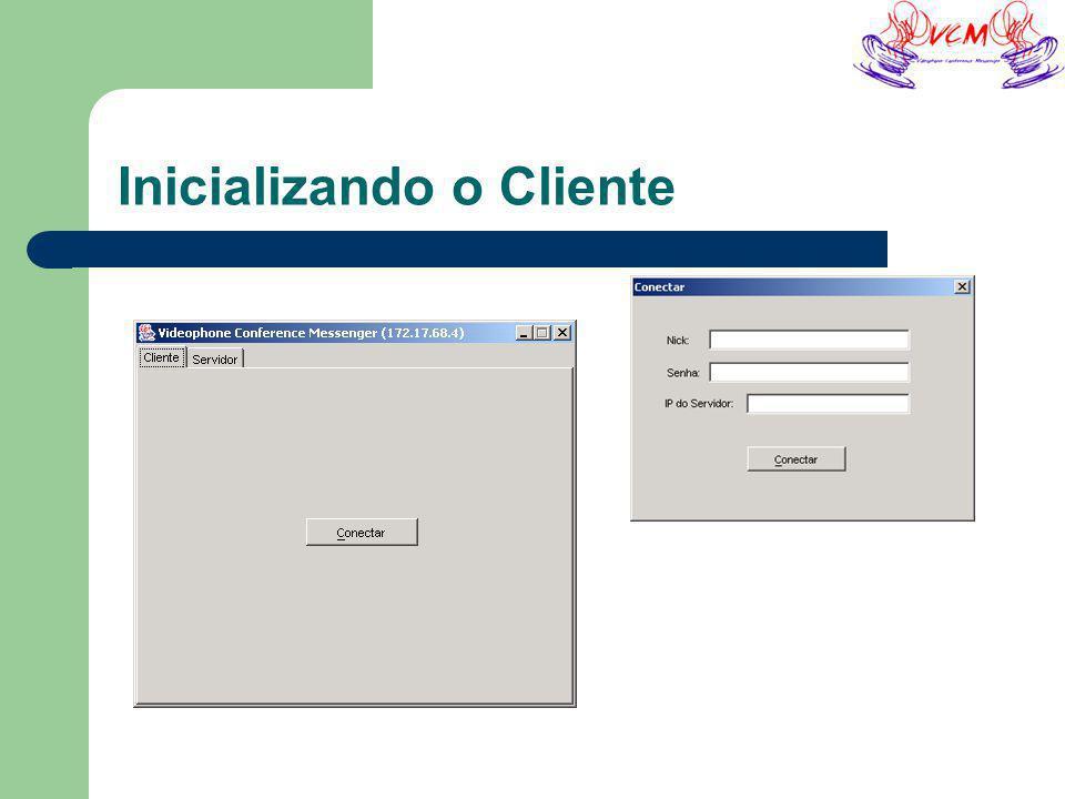 Inicializando o Cliente