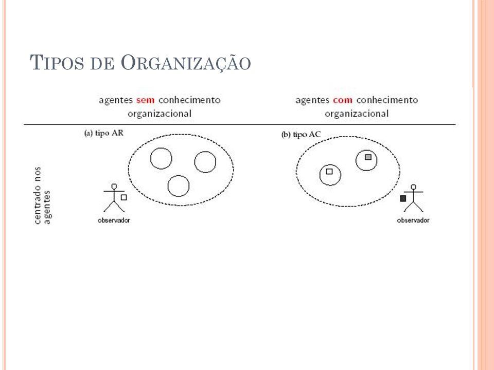 T IPOS DE O RGANIZAÇÃO
