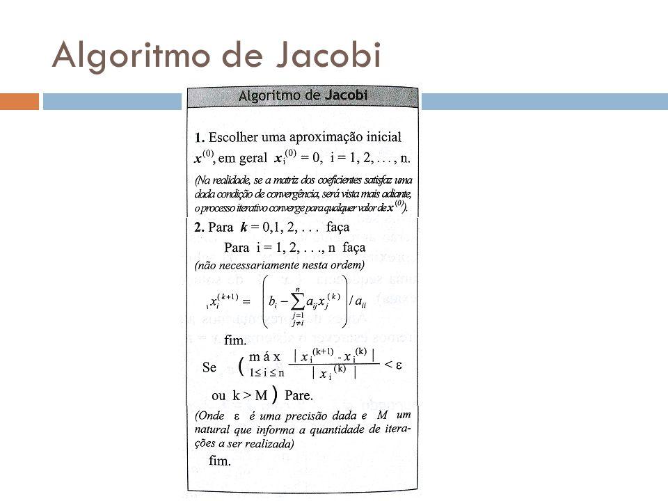 Algoritmo de Jacobi