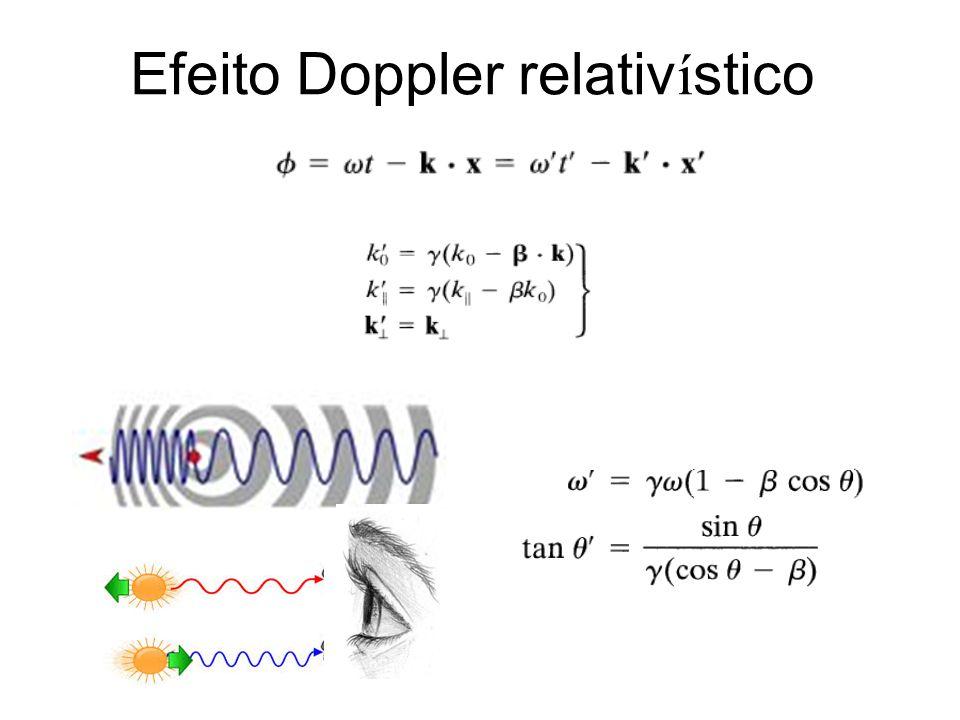 Efeito Doppler relativ í stico