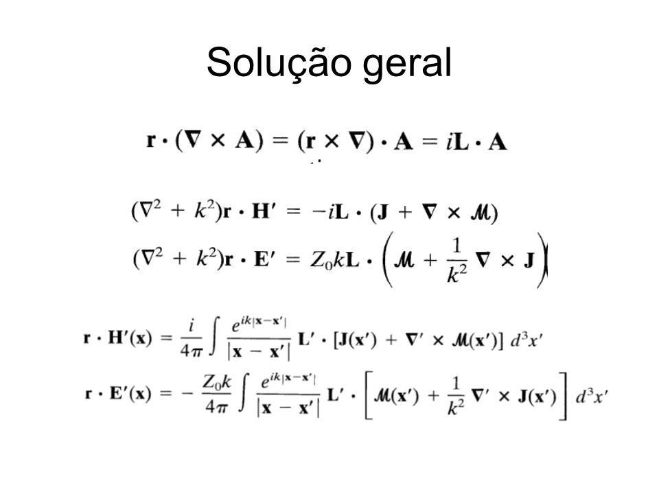 Solução geral