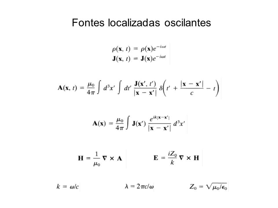 Fontes localizadas oscilantes
