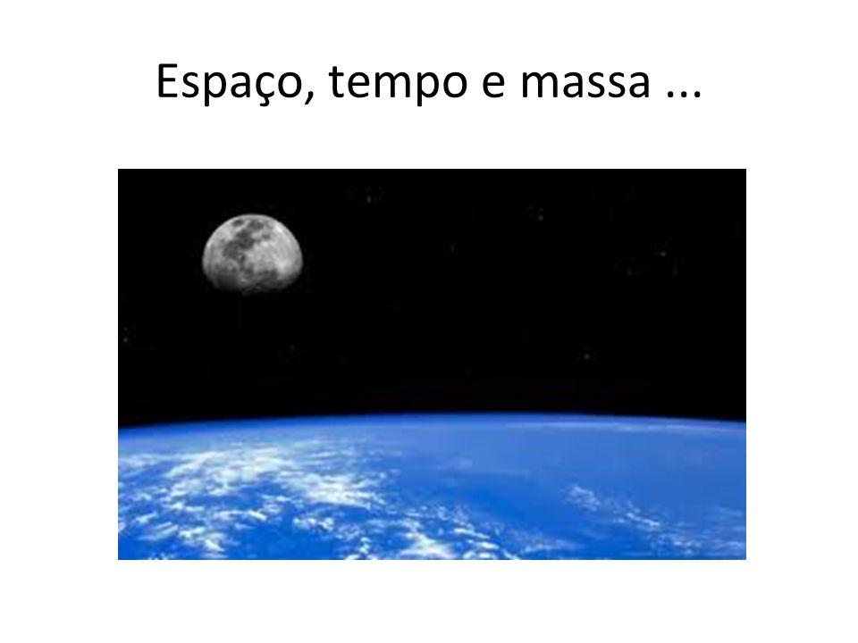 Espaço, tempo e massa...