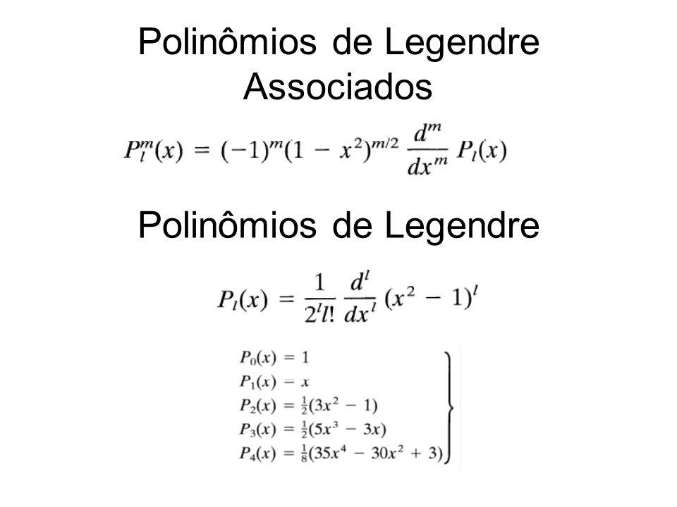 Polinômios de Legendre Associados Polinômios de Legendre