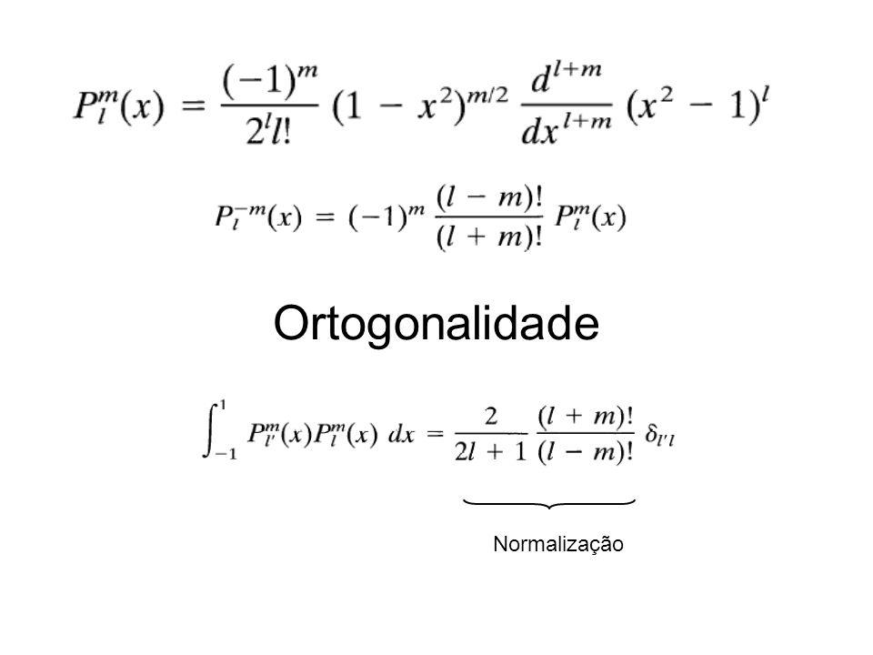 Ortogonalidade Normalização