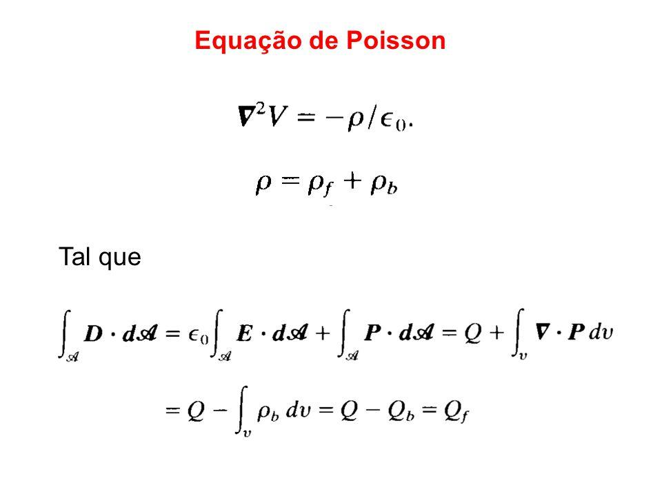Equação de Poisson Tal que