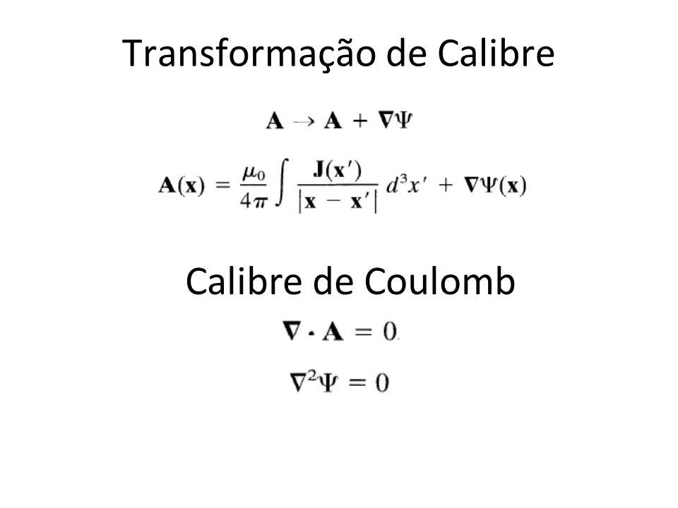 Transformação de Calibre Calibre de Coulomb