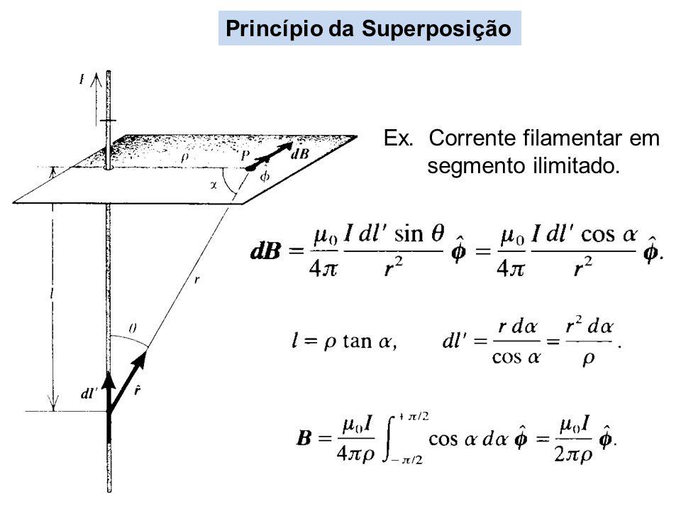 Exercício (a) Obtenha o potencial e campo magnéticos de uma esfera uniformente magnetizada.