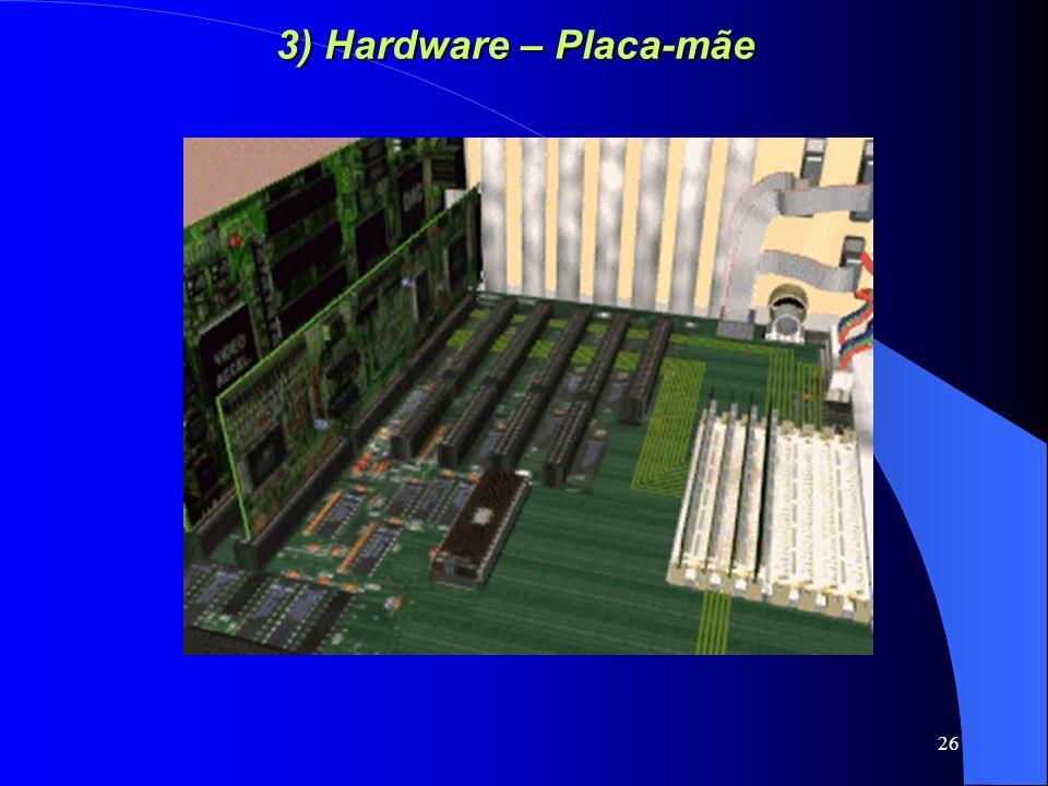 26 3) Hardware – Placa-mãe