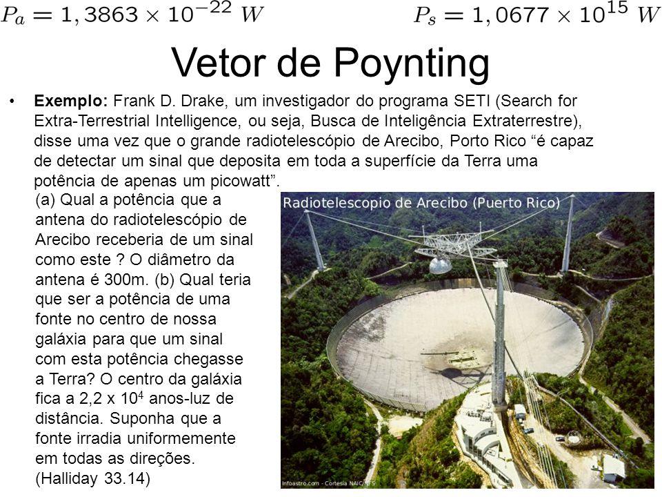 Vetor de Poynting Exemplo: Frank D.
