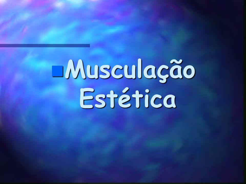 2.Definição muscular (definhação) Gordura sub-cutânea Definhação muscular Depende da dieta Estímulo: ativ. Combinadas (localizadas e aeróbicas) Bons r